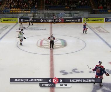 Hokej: Liga Mistrzów - mecz fazy grupowej: JKH GKS Jastrzębie - Red Bull Salzburg. Skrót meczu (POLSAT SPORT) Wideo