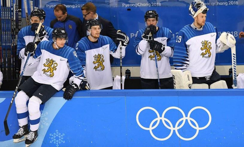 Hokejowa reprezentacja Finlandii na igrzyskach w Pjongczangu /AFP
