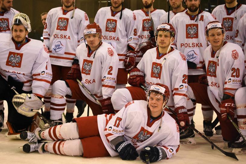 Hokejowa reprezentacja Polski /Daniel Bodzenta /East News
