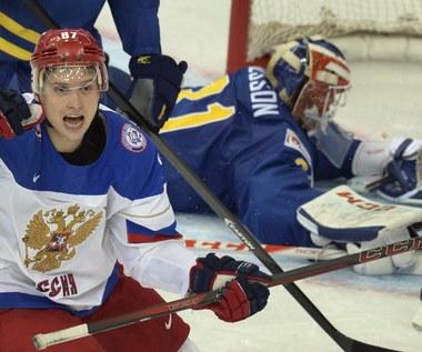 Hokejowe MŚ: Rosja - Szwecja 3-1 w półfinale