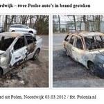 Holandia: Dwa polskie samochody spłonęły w miejscowości Noordwijk