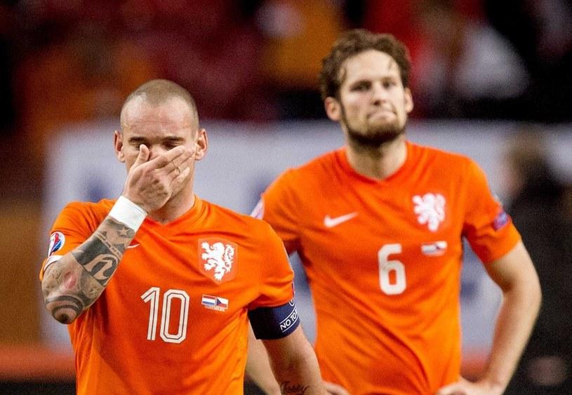 Holandia nie zagra na Euro 2016 /PAP/EPA