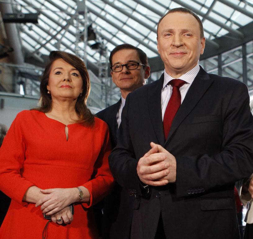 Holecka i Kurski /Maszewski /Reporter