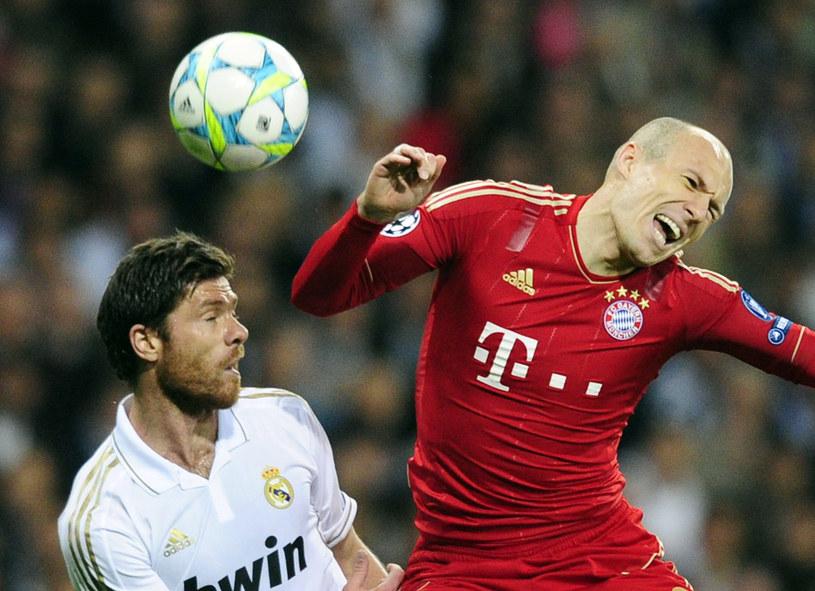 Holenderski skrzydłowy Bayernu Monachium Arjen Robben /AFP