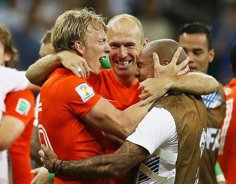 Holendrzy są już w najlepszej czwórce mundialu w Brazylii /PAP/EPA