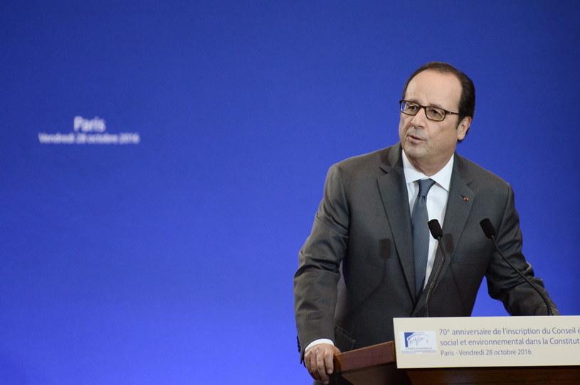 Hollande zajmie miejsce Tuska? /AFP