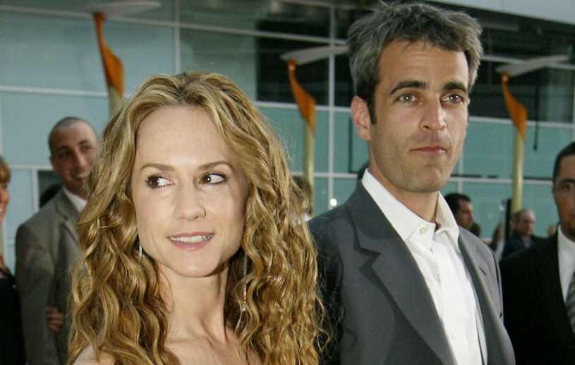 Holly Hunter i Gordon MacDonald, 2003 rok /Carlo Allegri /Getty Images