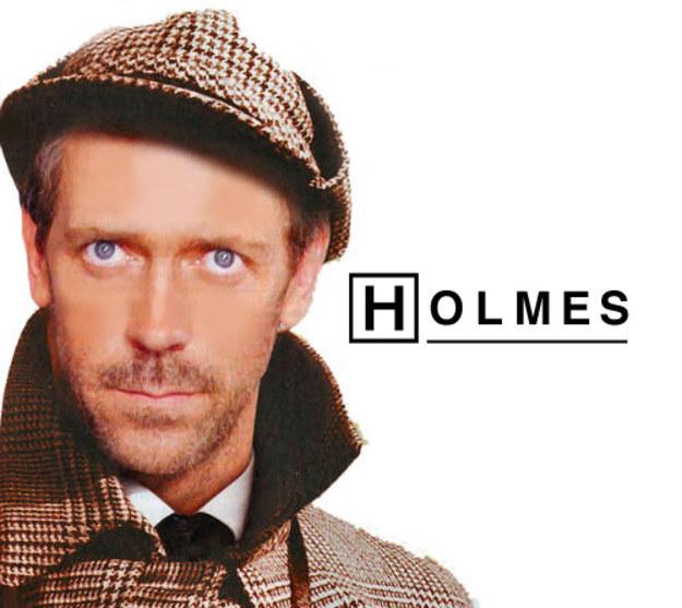 Holmes odrodził się jako Dr Gregory House ze słynnego medycznego serialu /Internet