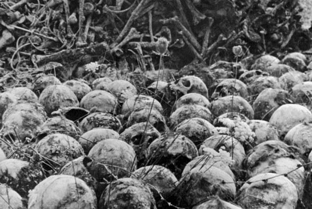 """""""Holocaust został potraktowany nie jako partykularna wina Niemców, ale faszystów"""" /AFP"""