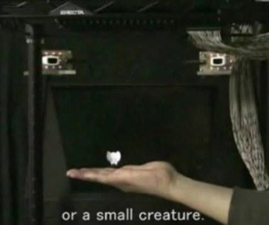 Hologram, który można poczuć