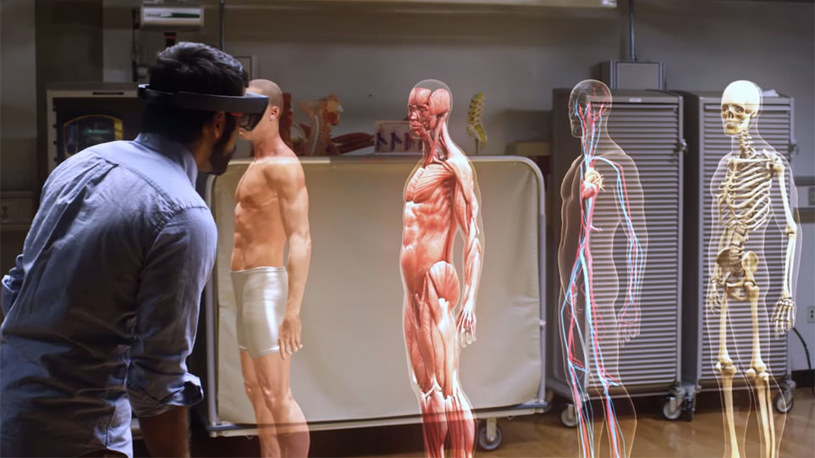 HoloLens może odmienić medycynę /materiały prasowe