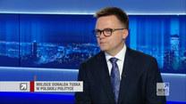 Hołownia o powrocie Tuska do polskiej polityki: W naszym ruchu nie potrzebujemy, by ktoś nam ojcował