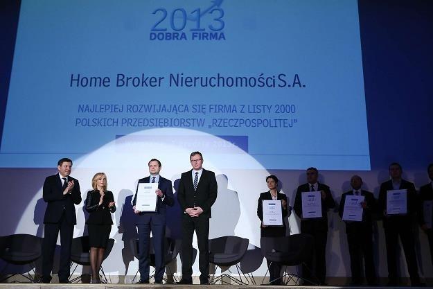 Home Broker był najlepiej rozwijającą się firmą /Informacja prasowa