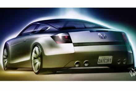 Honda accord coupe / Kliknij /INTERIA.PL