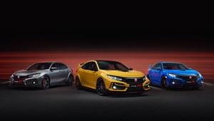 Honda Civic Type R w nowych wersjach