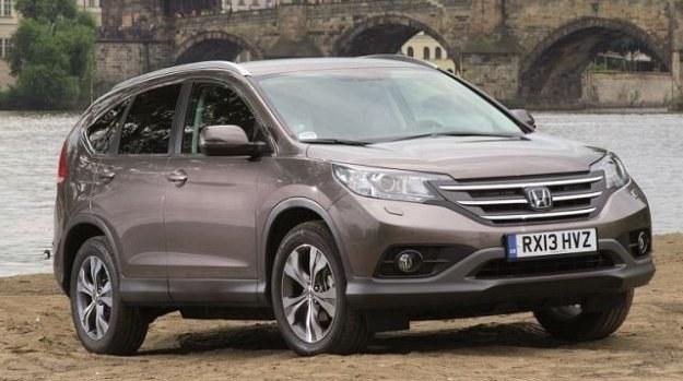 Honda CR-V produkowana jest w Wielkiej Brytanii. /Honda