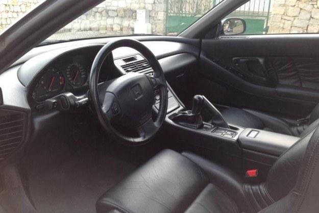 Honda NSX, która niegdyś należała do Ayrtona Senny /