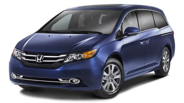 Honda Odyssey mieści na pokładzie do siedmiu osób. /Honda