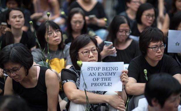 Hongkong: Rząd ogłosił zawieszenie kontrowersyjnego prawa