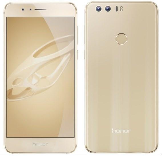 Honor 8 Gold /materiały prasowe