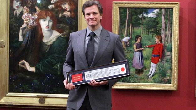 Honorowy mieszkaniec Londynu, Colin Firth / fot. Tim Whitby /Getty Images/Flash Press Media