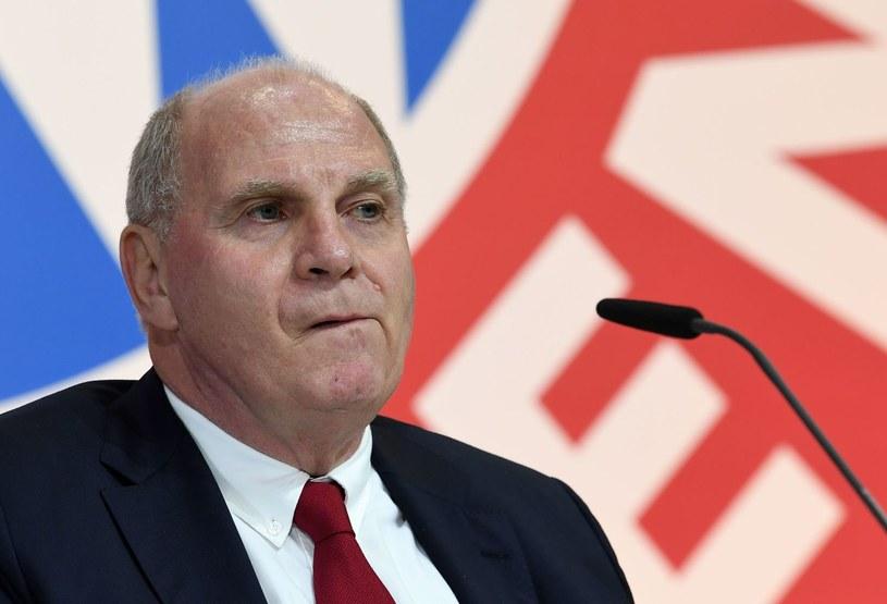 Honorowy prezydent Bayernu Monachium Uli Hoeness /AFP