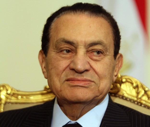 Hosni Mubarak w ostatnich latach pełnienia urzędu /AFP
