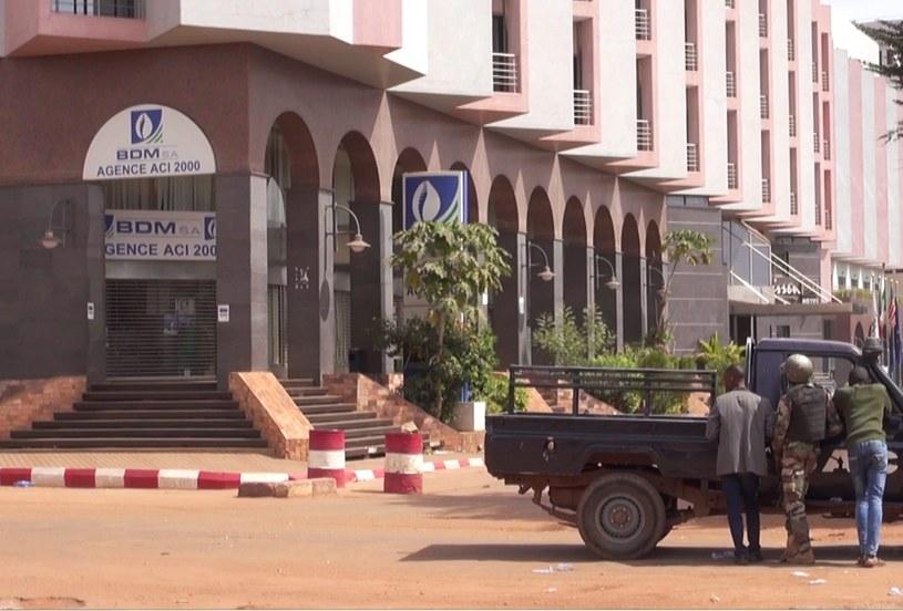 Hotel Bamako /PAP/EPA