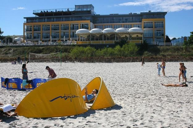 Hotel Bryza w Juracie na Helu. Fot. DAREK LEWANDOWSKI /Agencja SE/East News