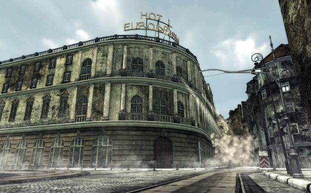 Hotel Europejski w grze Uprising44 /Informacja prasowa