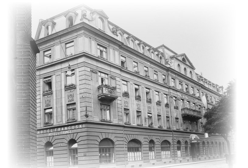 Hotel Francuski /Krzysztof Strózik /Wydawnictwo WAM