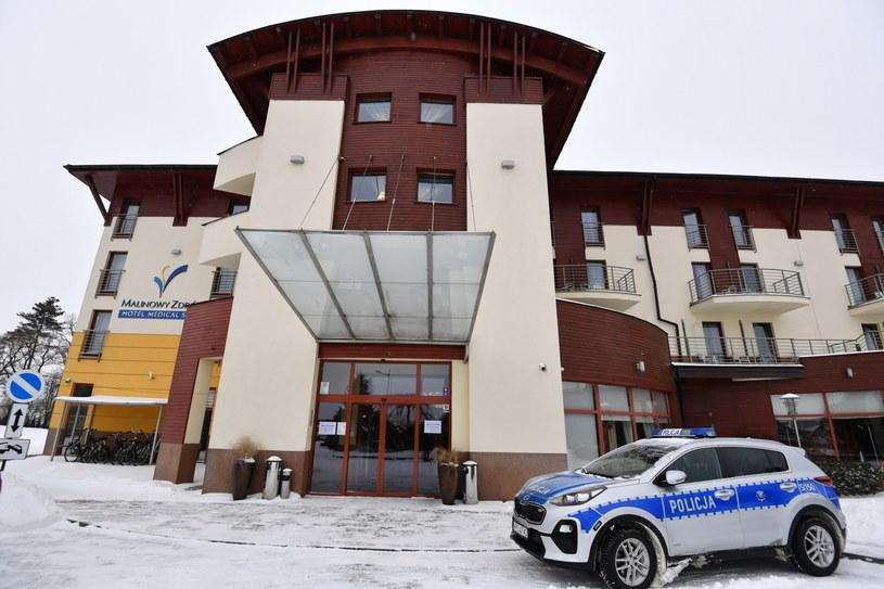 Hotel Malinowy Zdrój w Solcu-Zdroju / Piotr Polak    /PAP