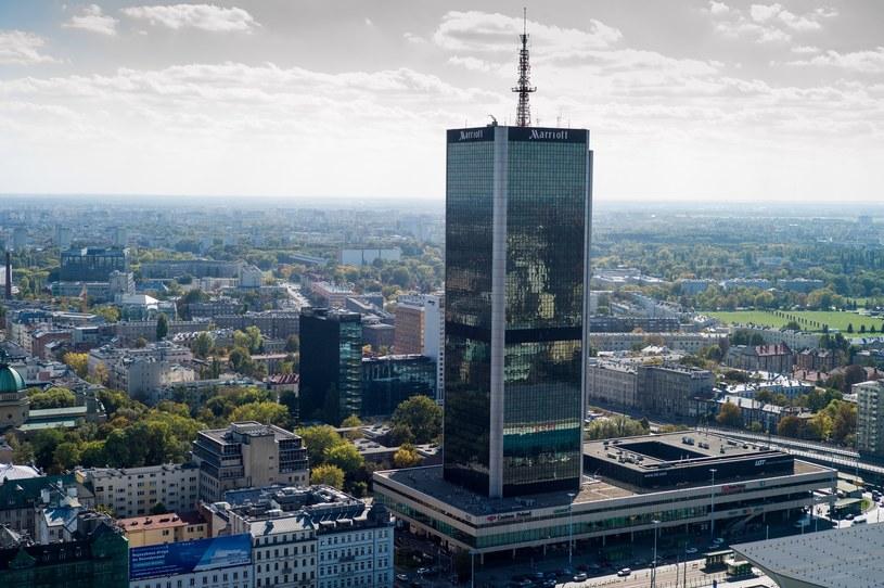 Hotel Marriott w Warszawie /fot. Andrzej Iwanczuk /Reporter