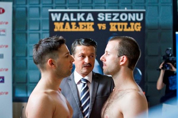 Na ringu spotkają się Adam Kulig i Rafał Małek