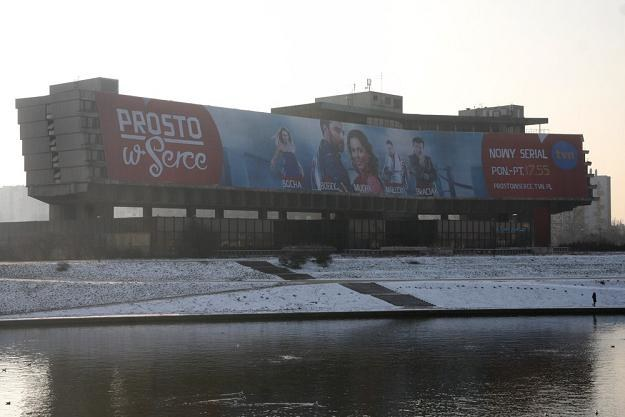 Hotel pełni rolę wielkiego billboardu reklamowego/fot. D. Klamka /East News