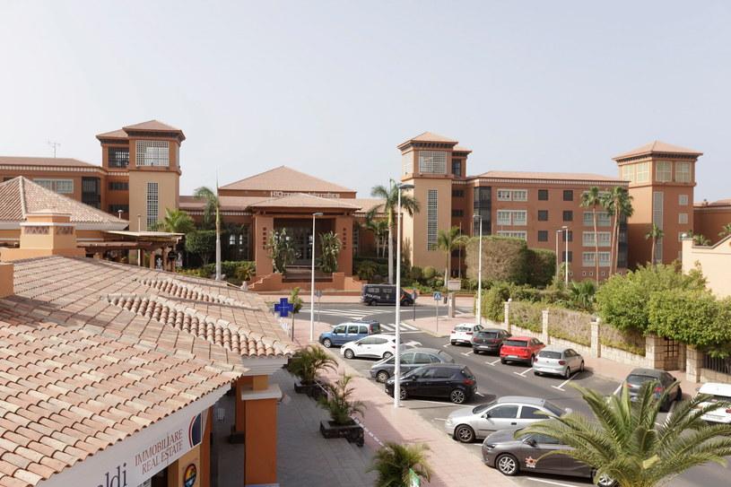 Hotel poddany kwarantannie /RamĂłn de la Rocha /PAP/EPA