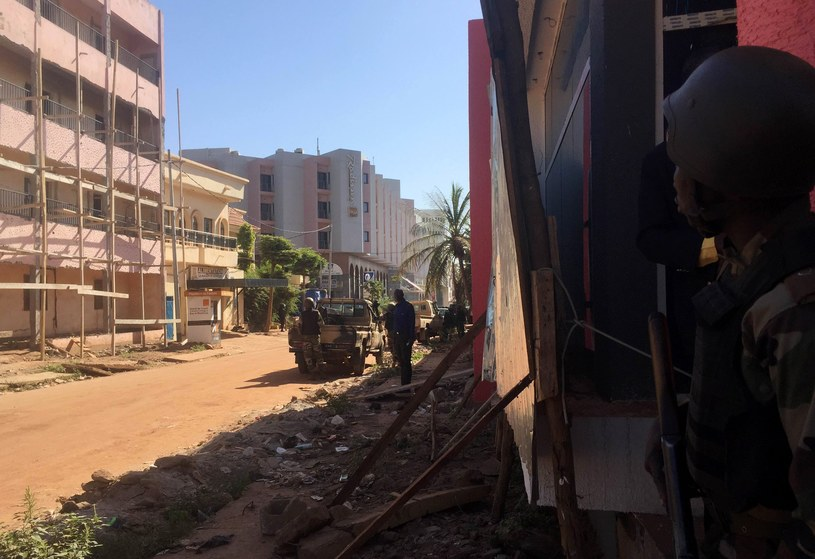 Hotel Radisson Blu w Bamako /AFP