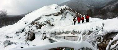 Hotel Rigopiano zbudowany na resztkach skał i lawin