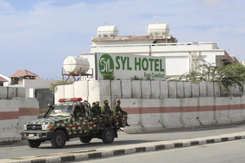 Hotel, w którym doszło do ataku /SAID YUSUF WARSAME /PAP/EPA