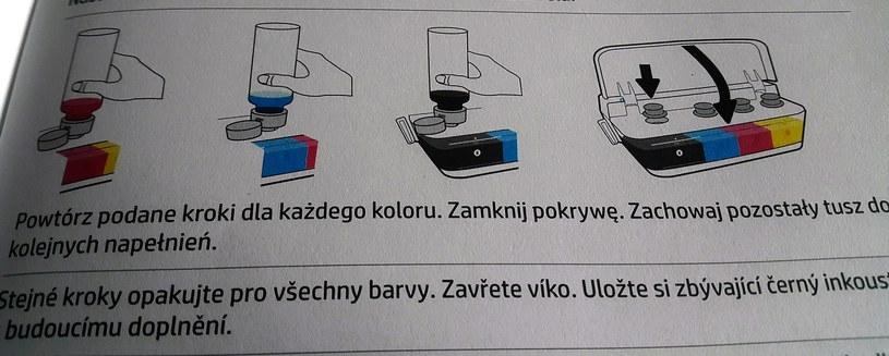 HP DeskJet GT 5820 - instrukcja prowadzi nas krok po kroku /INTERIA.PL