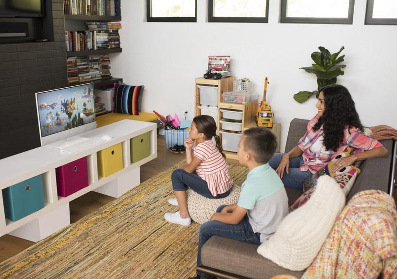 HP Pavilion AiO świetnie sprawdza się jako centrum domowej rozrywki /materiały prasowe