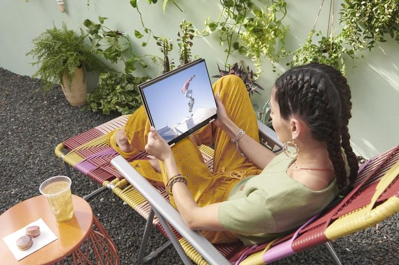 HP Spectre x360 ma obracany ekran /materiały prasowe