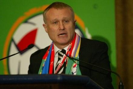 Hrihorij Surkis Fot. Maciej Śmiarowski /Agencja Przegląd Sportowy