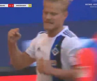 HSV Hamburg - Wehen Wiesbaden 3-2 - skrót (ZDJĘCIA ELEVEN SPORTS)
