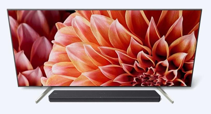 HT-XF9000 pod telewizorem XF90 /materiały prasowe