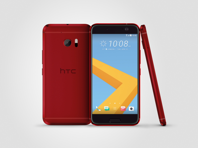 HTC 10 Camellia Red /materiały prasowe