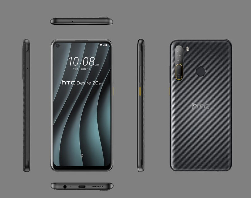 HTC Desire 20 pro /materiały prasowe