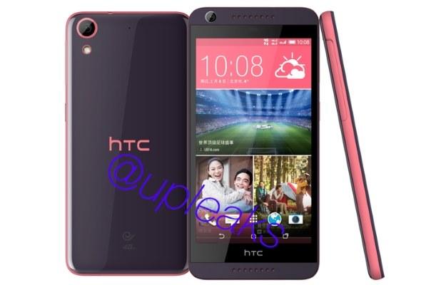 HTC Desire 626.   Fot. @upleaks /materiały prasowe