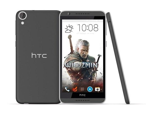 HTC Desire 820 z motywem wiedźmińskim /materiały prasowe
