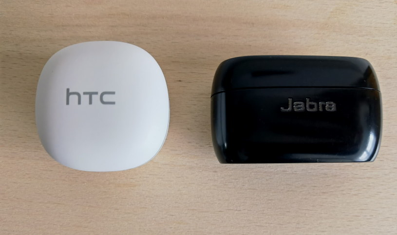 HTC Earbuds Wireless i Jabra Elite 75t /INTERIA.PL